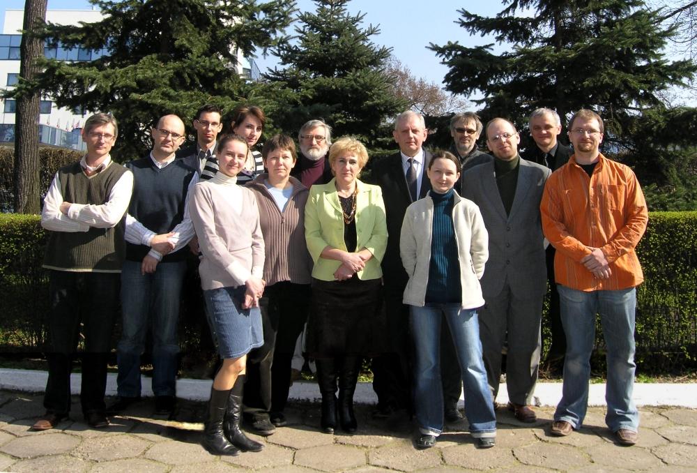 Pracownicy Katedry Biofizyki